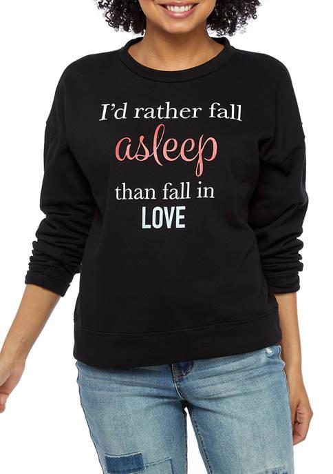 TRUE CRAFT Valentines Day Graphic Sweatshirt