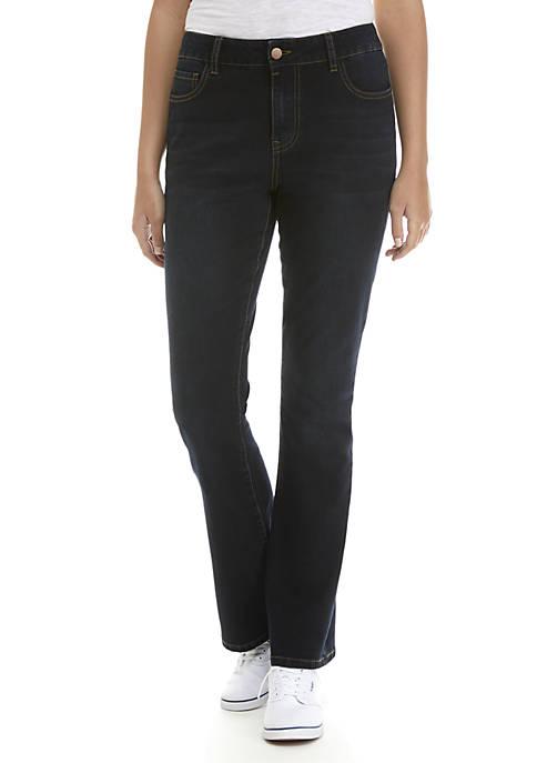 ASHLEY MASON Porkchop Pocket Boot Cut Jeans