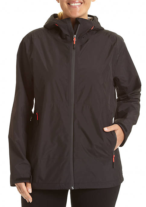 Womens 100% waterproof breathable all weather jacket: