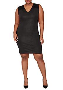 Plus Size Callie Stud Sheath Dress