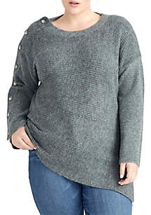 Plus Size Adley Textured Sweater