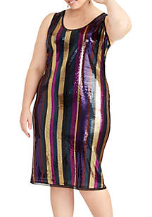 Plus Size Veda Sequin Dress