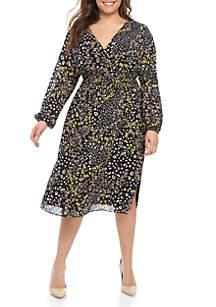 9788e77e4599c ... RACHEL Rachel Roy Plus Size Iris Smocked Dress