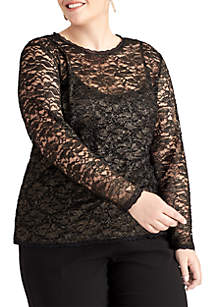 Plus Size Vivan  Top