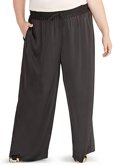 Plus Size Sonya Tie Waist Pants