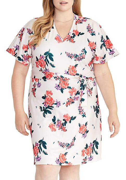 RACHEL Rachel Roy Plus Size Andrea Floral V