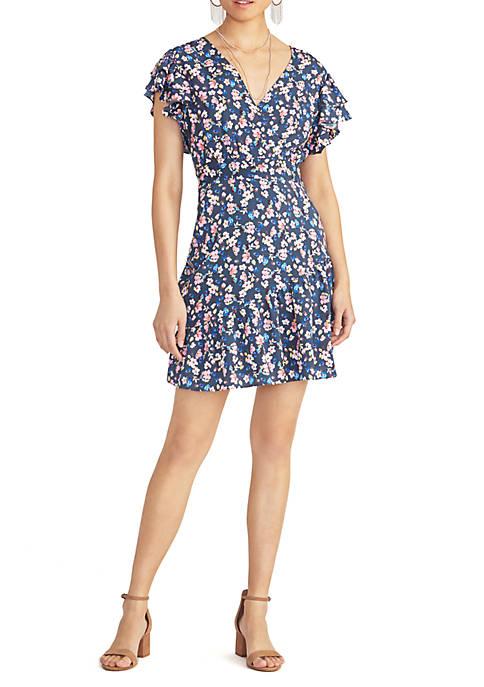 RACHEL Rachel Roy Pierce Floral Dress