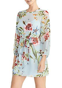 RACHEL Rachel Roy Sophia Tie Front Dress