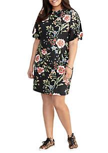 RACHEL Rachel Roy Plus Size Janie Mini Dres