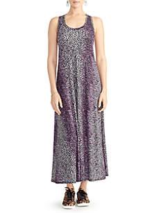 RACHEL Rachel Roy Samantha Maxi Cheetah Dress