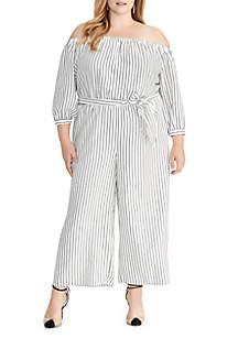 197d3d62b2a44 ... RACHEL Rachel Roy Plus Size Aida Striped Jumpsuit