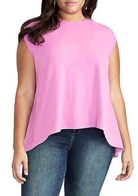 b64fe542250d9 RACHEL Rachel Roy Plus Size Gabriella Sleeveless Top ...