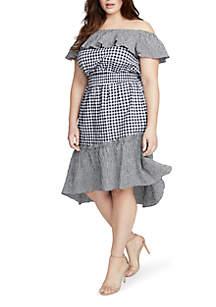 Plus Size Ava Gingham Dress
