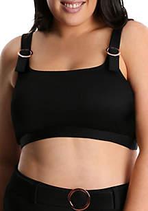 Lysa Plus Size Bralette Bikini Swim Top