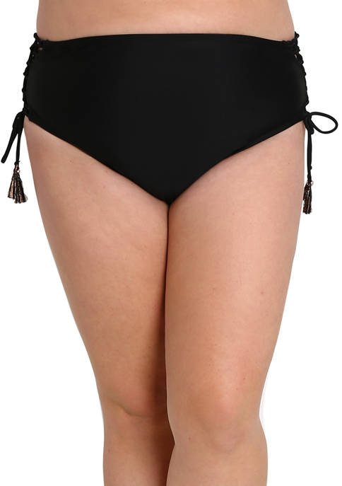 Lysa Plus Size High Waisted Frankie Bikini Bottoms