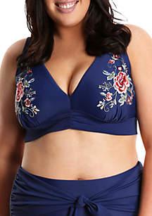Lysa Plus Size Apex Bikini Swim Top