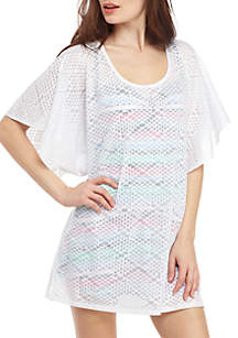 New Directions® Tribal Mode Swim Tunic Coverup