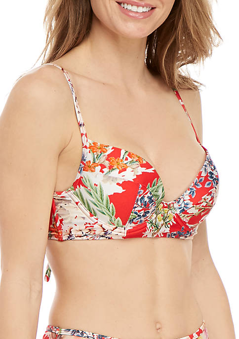 Fleur De Jardin Undewire Swim Top