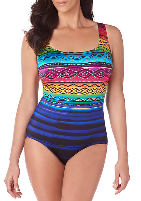 Longitude Siesta Key X Back One Piece Swimsuit