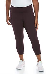 Marika® Curves Plus Size Hunter Capris