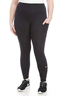 40f4cf3033c ... Marika® Curves Plus Size Evita Embroidered Leggings