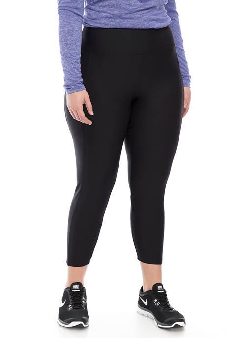 Marika® Curves Plus Size Eclipse Ankle Leggings