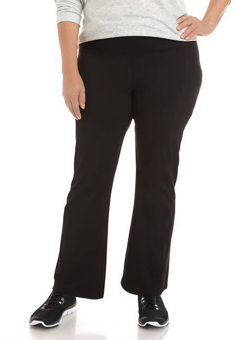 Plus Size Eclipse Yoga Pants with Tummy Control