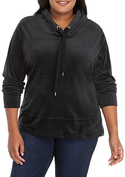 Marika® Curves Plus Size Veda Hoodie