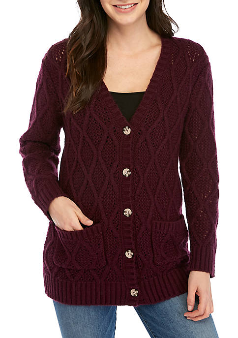 Darcy Crochet Cardigan