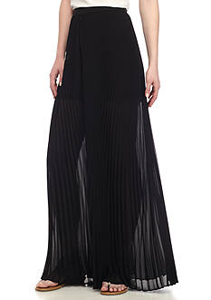 WAYF Banner Pleated Palazzo Pant