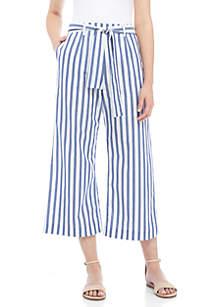 Aversa Crop Waist Length Pants