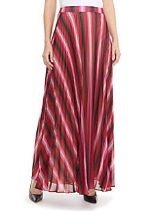 Lina Pleated Maxi Skirt