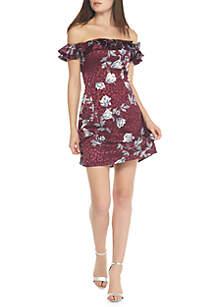 Gale Floral Mini Dress