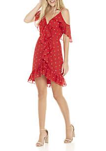 Afragola Ruffle Mini Dress