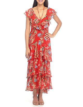 623ca7b33fe0f Wayf Chelsea Tier Ruffle Maxi Dress | belk
