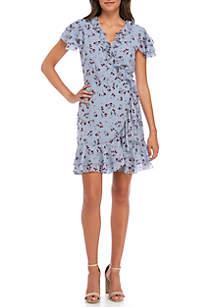 Madlyn Floral Wrap Dress