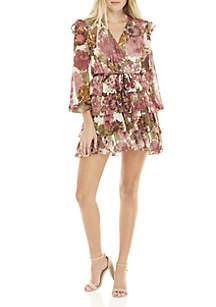 Marina Tiered Ruffle Mini Dress