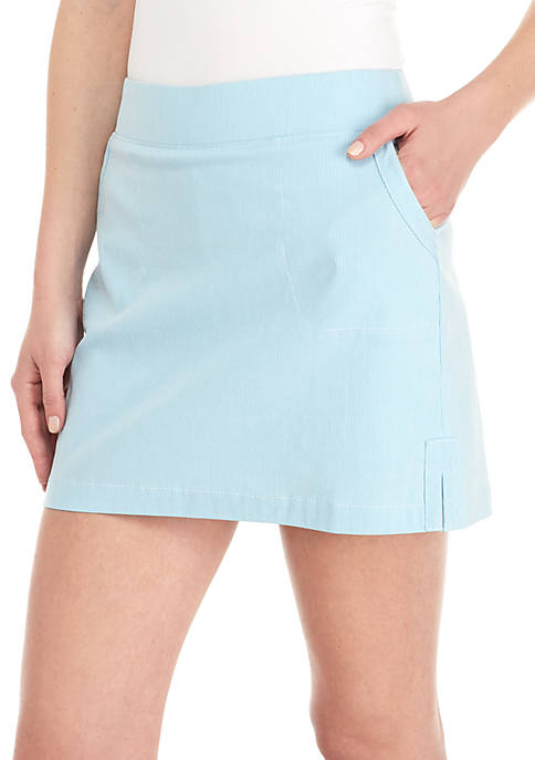 Crown & Ivy™ Tequila Striped Skort