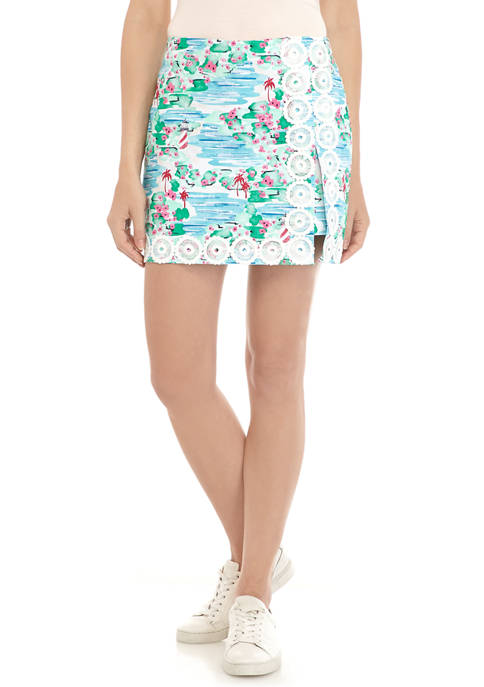 Crown & Ivy™ Womens Pull On Skort