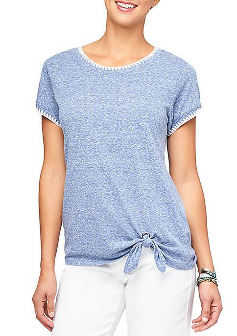 Stitch Side Tie T Shirt