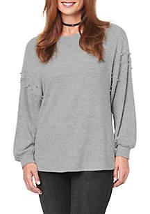 Shirttail Hem Knit Top