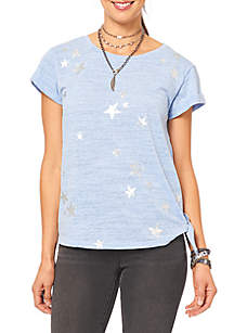 Short Sleeve Side Knot Tee