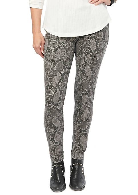 Democracy Absolution Side Zip Snake Jeggings