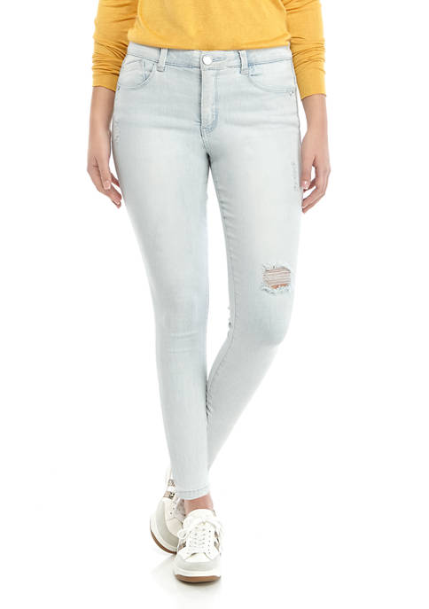 Democracy Womens Absolution High Rise Ankle Length Jeans