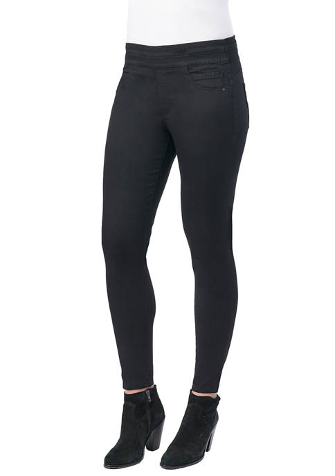 Democracy Womens High Rise Absolution Pull On Jeggings
