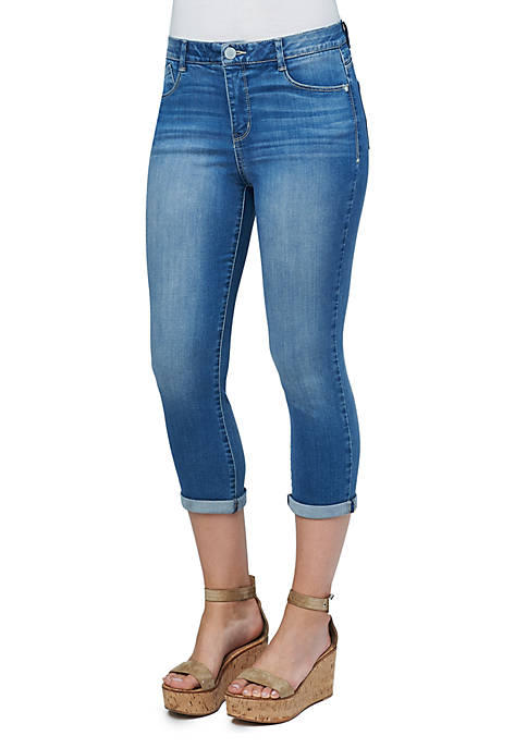 Democracy High Rise Luxe Touch Cropped Jeans
