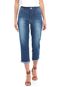 High Rise Absolution Crop Jeans