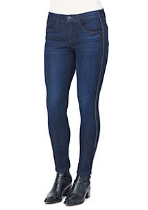 Mid Rise Modern Denim Jeans