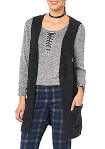 Side Lace Up Sweater Vest