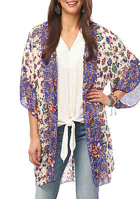 0ca5d636f Women's Kimono Tops & Cardigans: Floral & More | belk